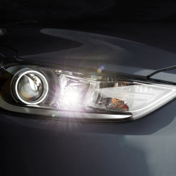 Pack Full LED Parking Light/License Plate for Peugeot 206 +