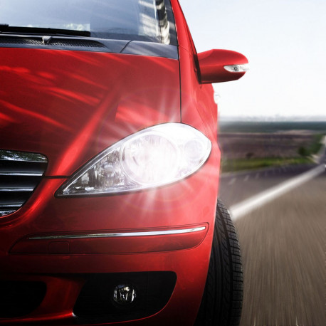 LED Low beam headlights kit for Peugeot 206+ 2009-2013