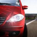 LED High beam headlights kit for Peugeot 206+ 2009-2013