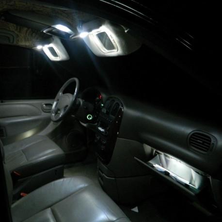 Interior LED lighting kit for Peugeot 405 1987-1997