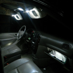 Interior LED lighting kit for Peugeot 607 1999-2010