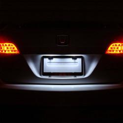 Pack LED plaque d'immatriculation pour Peugeot 607 1999-2010