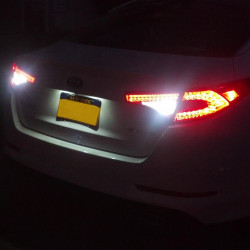 LED Reverse lights kit for Peugeot 607 1999-2010