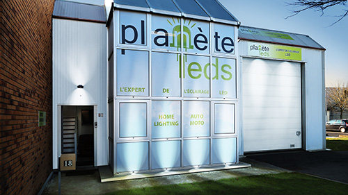 Showroom Planète Leds